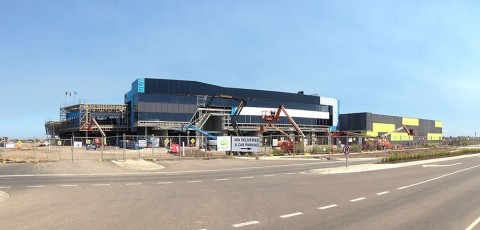 Williams Landing Shopping Centre is now under construction